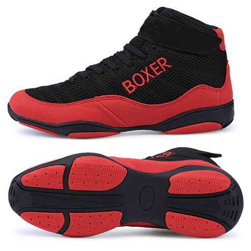 New Boxing Shoes, Men Light Weight Wrestling Shoes