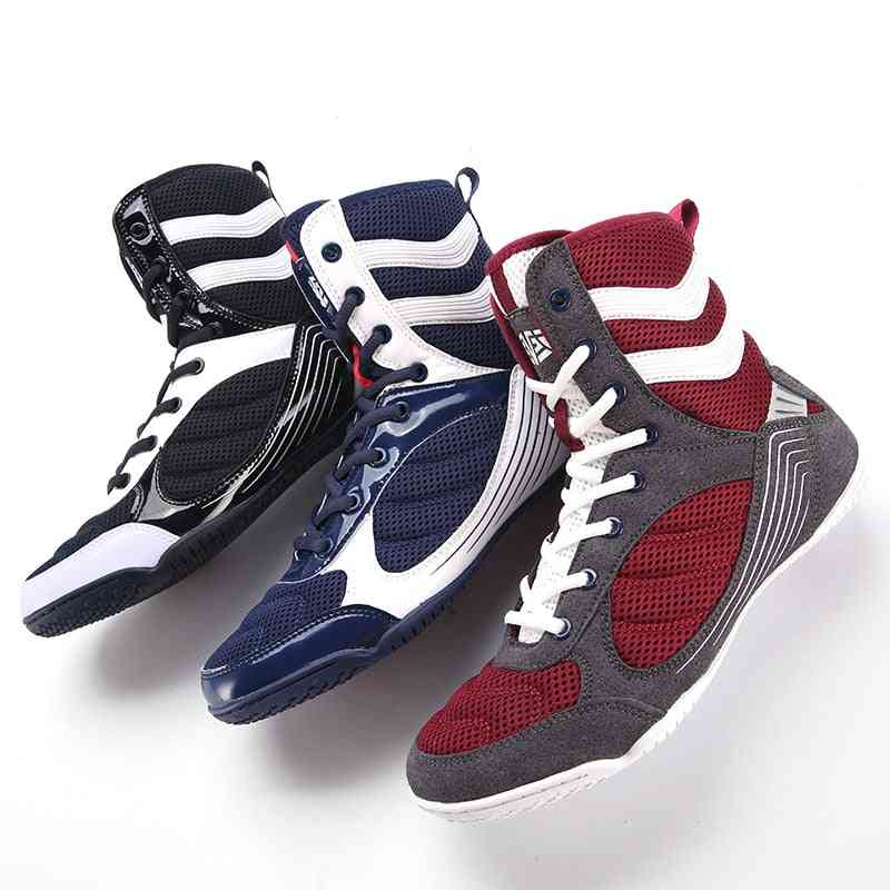 New Professional Boxing Shoes, Men High-quality Sneakers