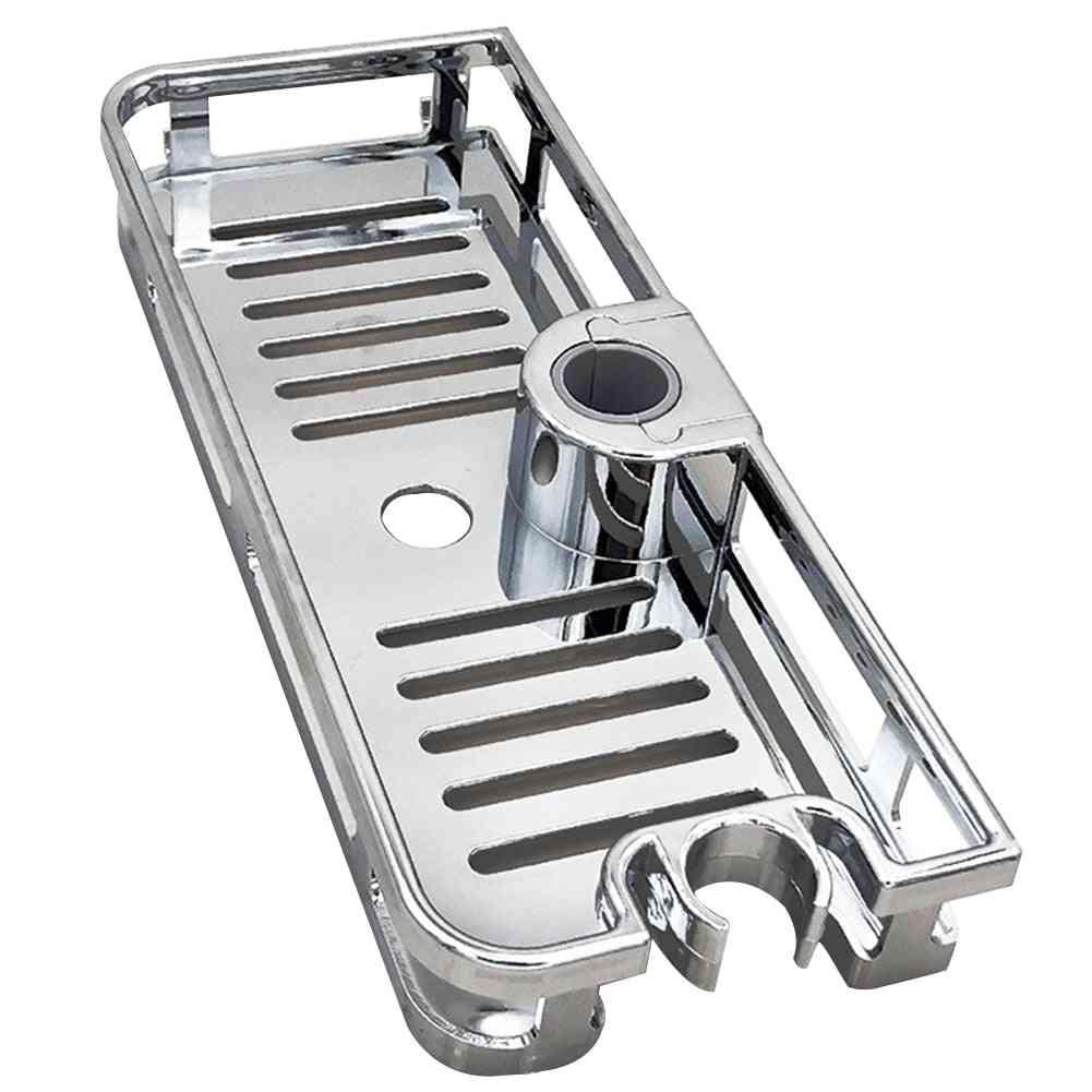 Multifunction Bathroom Soap Holder Shower Shelf Storage Rack Tray