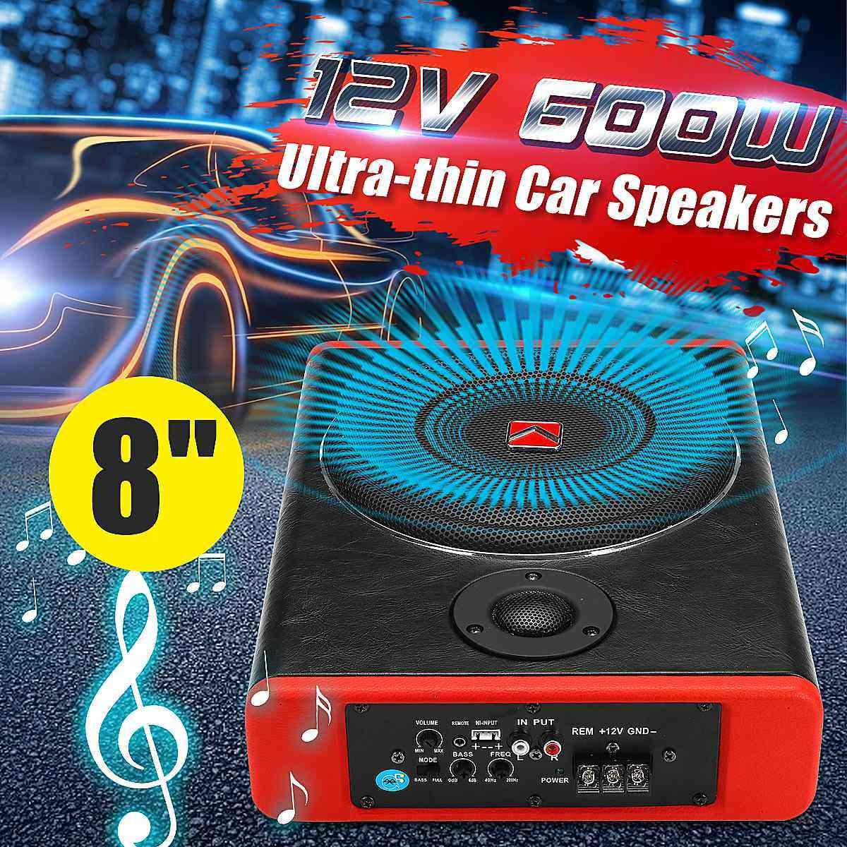 Speaker / Audio Amplifier Vehicle Subwoofer