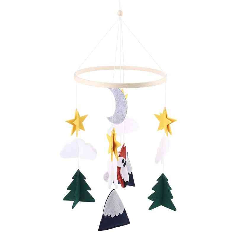 Crib Mobile Rattle Toy Baby Wind Chime Pendant Bed Bell Hanging Ornament