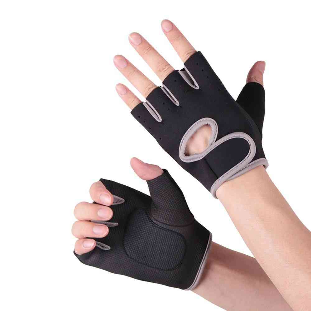 Gym Fitness Gloves, Breathable Body Building Wrist Gloves