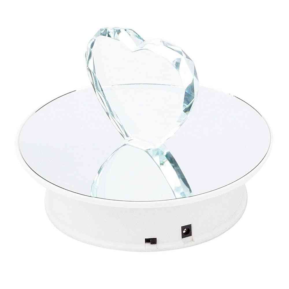 Stylish Mirror Surface Electric Motorized Rotating Display Turntable