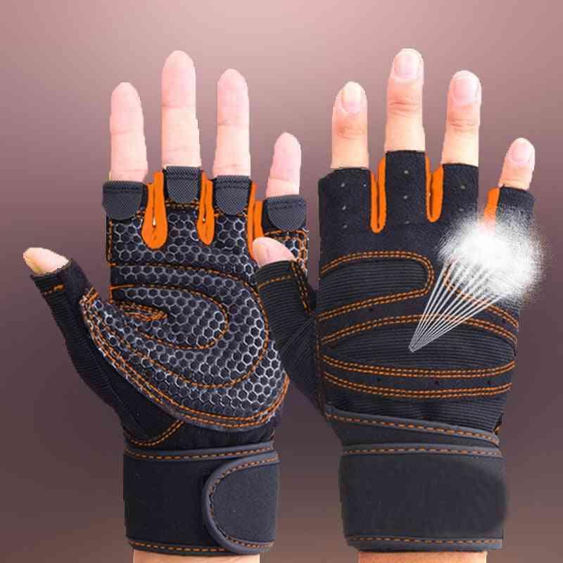 Weightlifting Men/women Half Finger Gloves