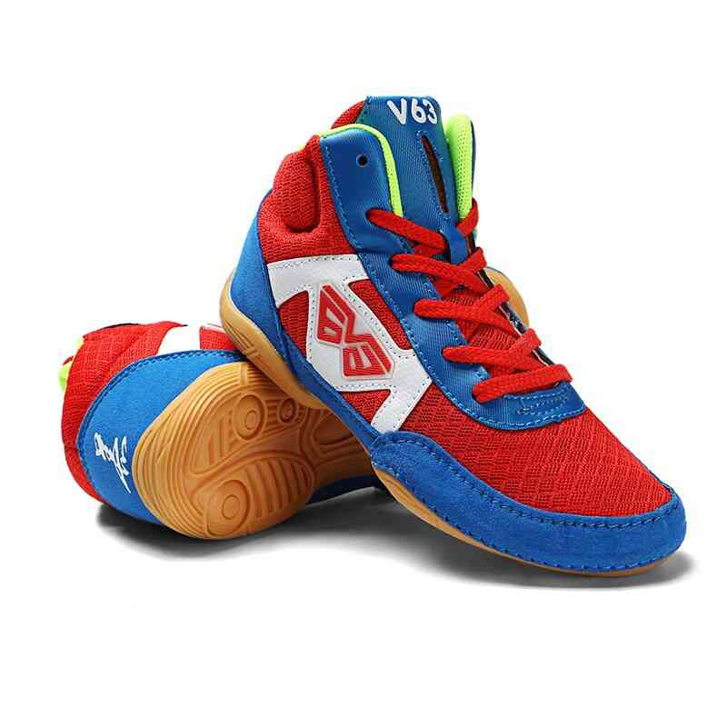 Kids Wrestling Boxing Sneakers Shoes