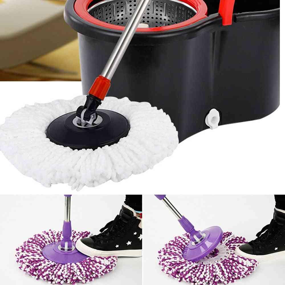 360 Rotating Head Easy Microfiber Spinning Floor Mop