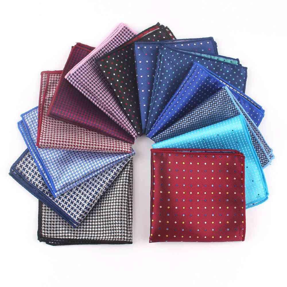 Suit Pocket Square Women Dots Chest Towel