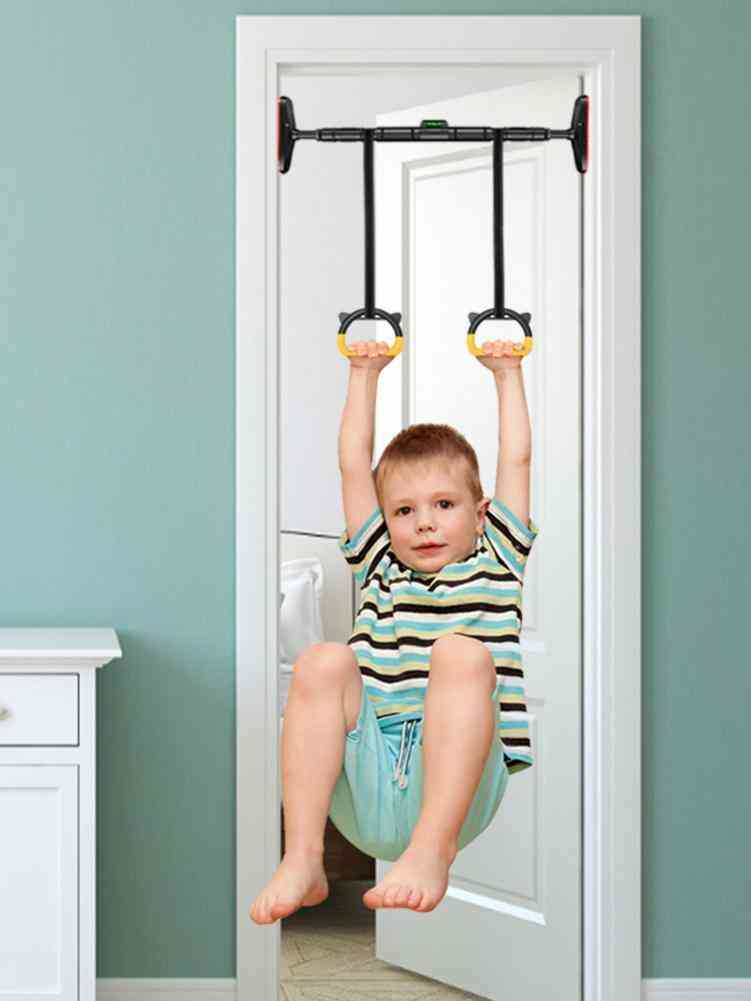 Kids Gym Ring With Adjustable Nylon Strap Handles
