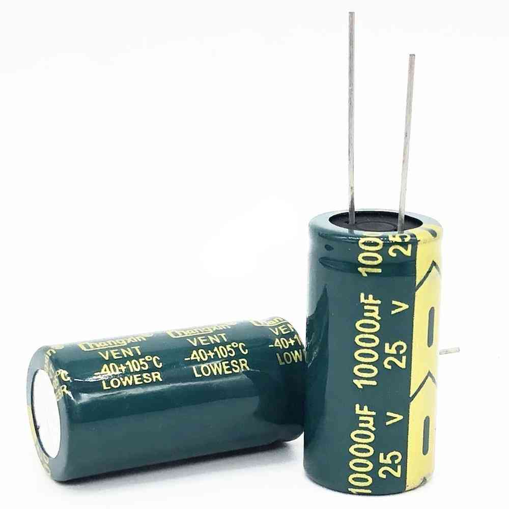 25v 10000uf 18*35 Low Esr High Frequency Aluminum Electrolytic Capacitor