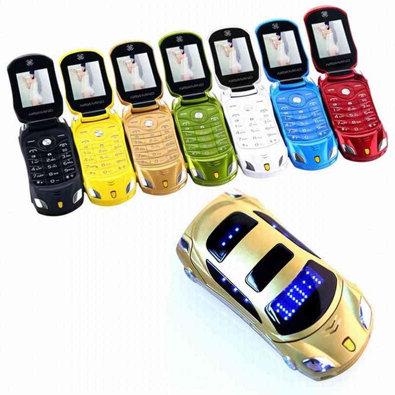 Newmind Flip Camera Flashlight Dual Sim Cards Small Cellphone