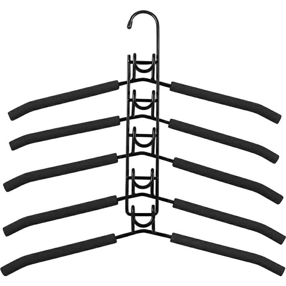 Antislip Eva Metal Clothes Hanger Dryer Rack