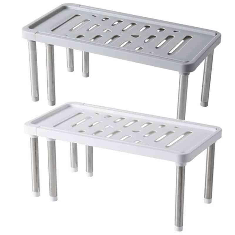 Stainless Steel Storage Shelf Shoe Rack Cabinet Holders