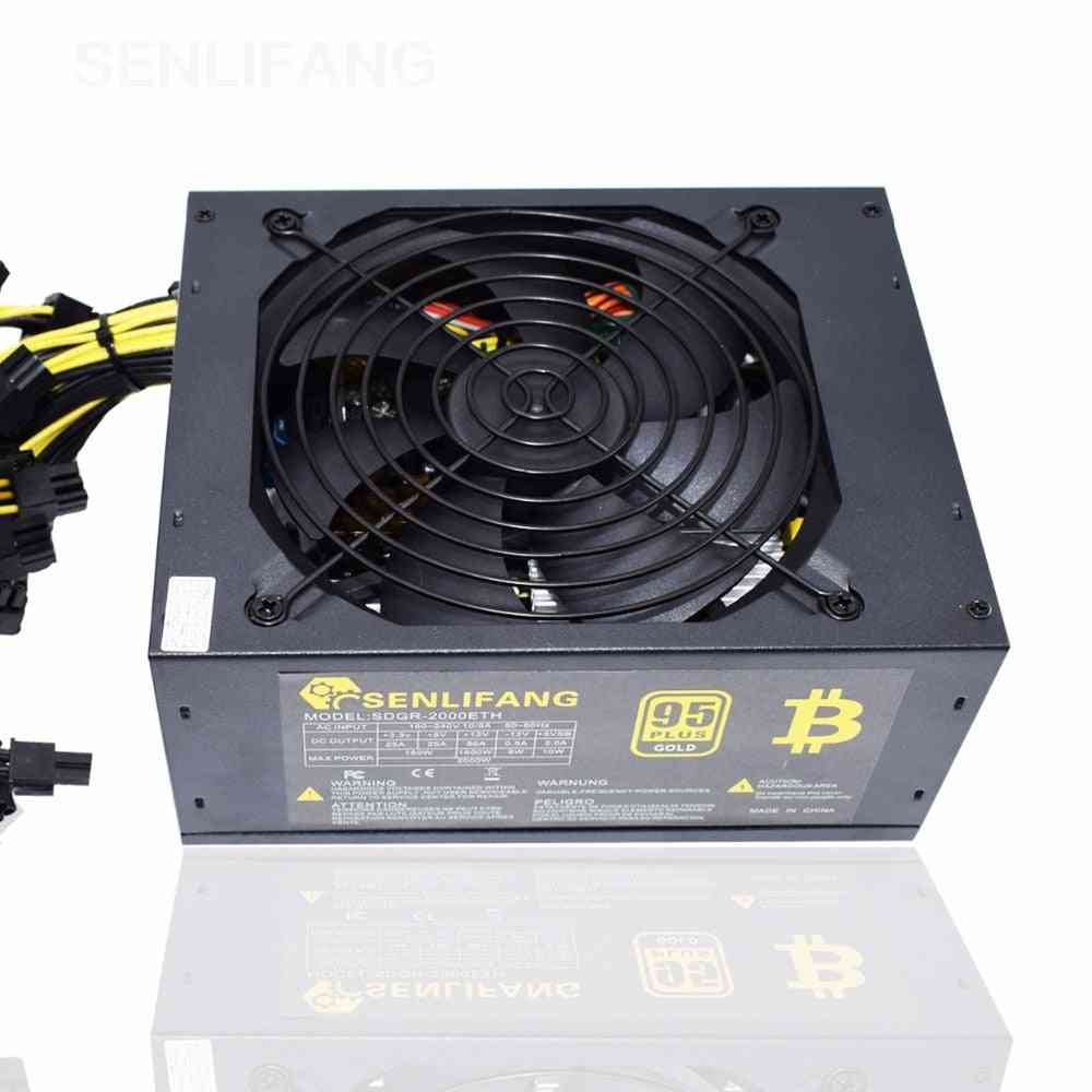 2000w Psu Atx Computer Power Supply For Mining Machine