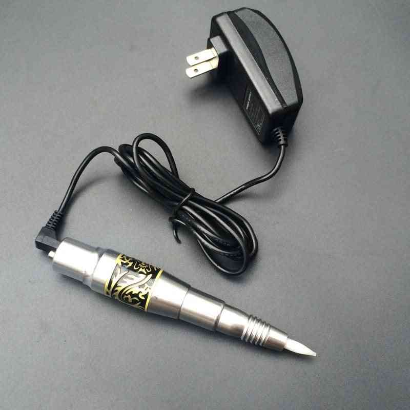 Permanent Makeup Machine Cosmetic Tattoo Pen With Ac Adapter For Tattoo Eyebrow/ Lip/ Eyeliner