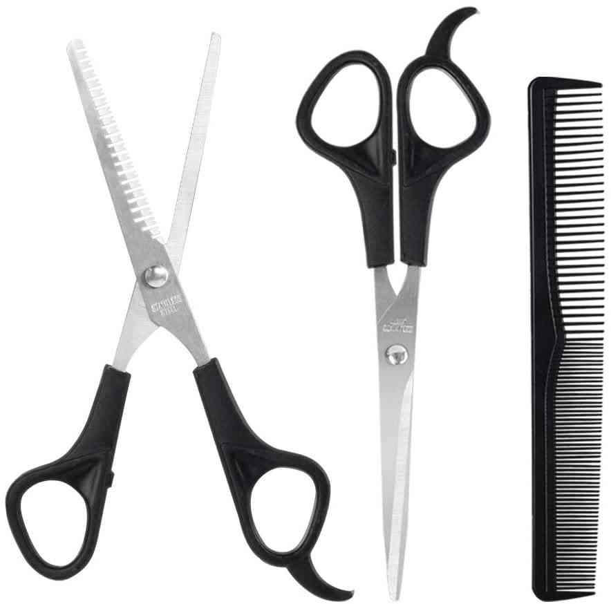 Cutting Thinning Hair Comb Barber Salon Hairdressing Scissors