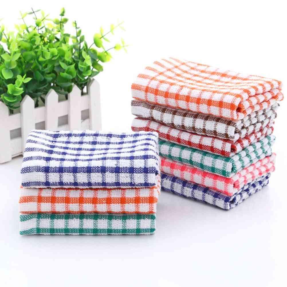 Cotton Kitchen Towels And Dishcloths Set