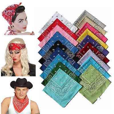 Cotton Scarf Headband Bandanas Head Wrap