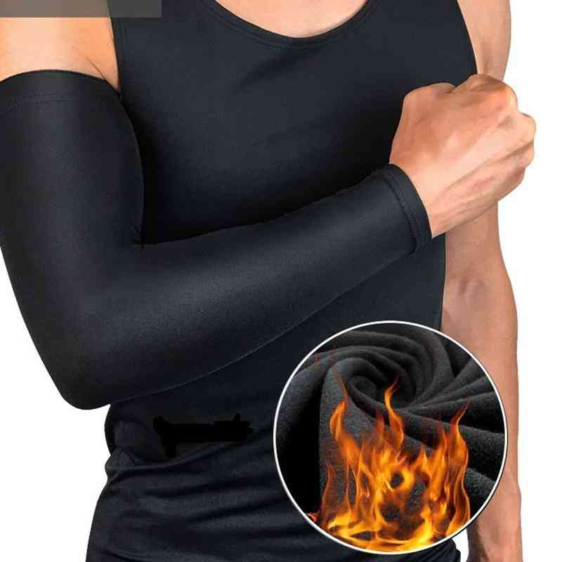 Man Women Arm Sleeves Winter Sports Elbow Protective Gloves