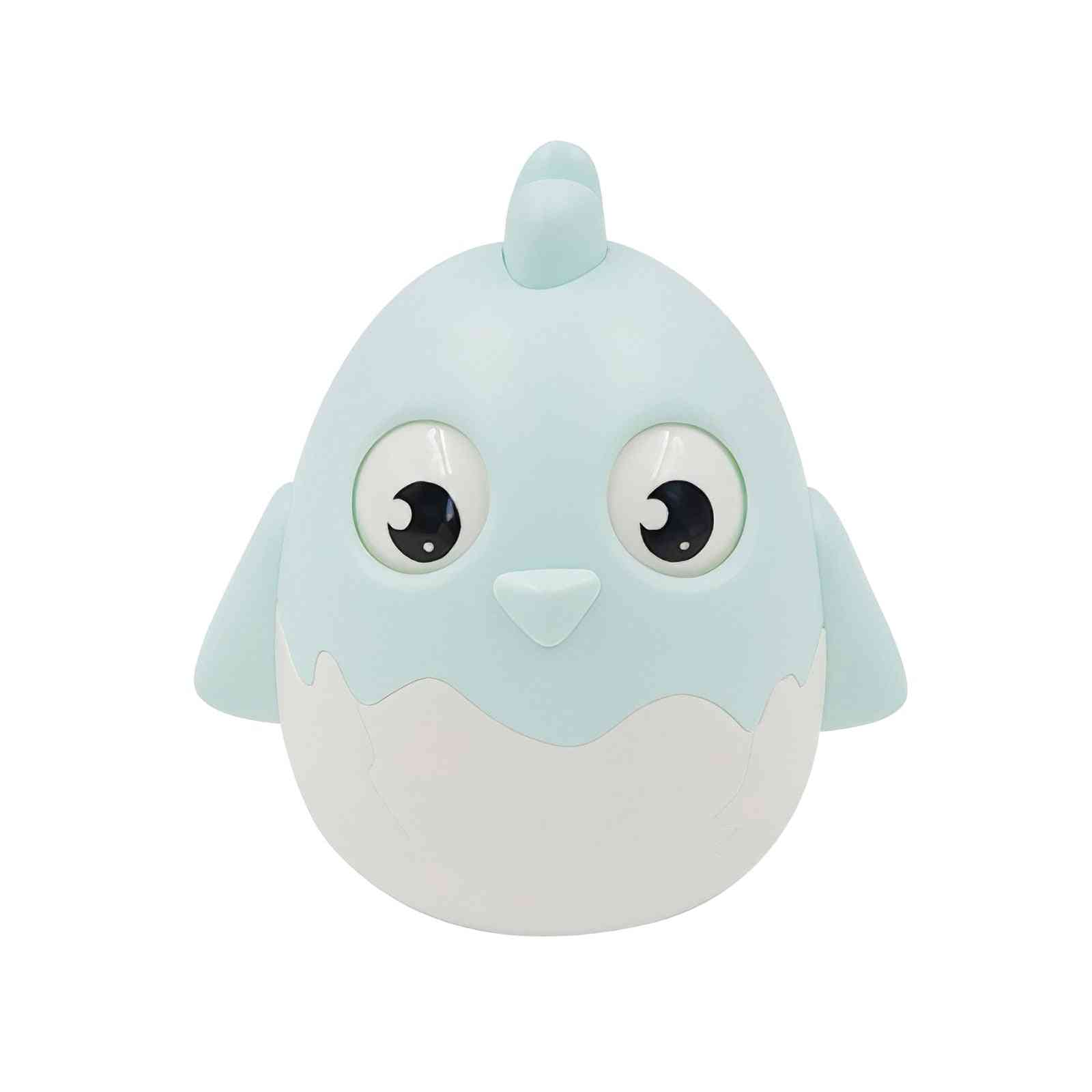Baby Early Learning Crisp Ringtone Tumbler's Anti-fall Eyes Moveable Cute Baby Chicken Tumbler