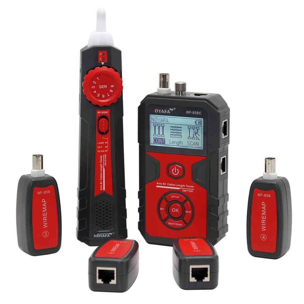 Trace Line Locator Portable Wire Tracker Cable Tester Finder Network Cable