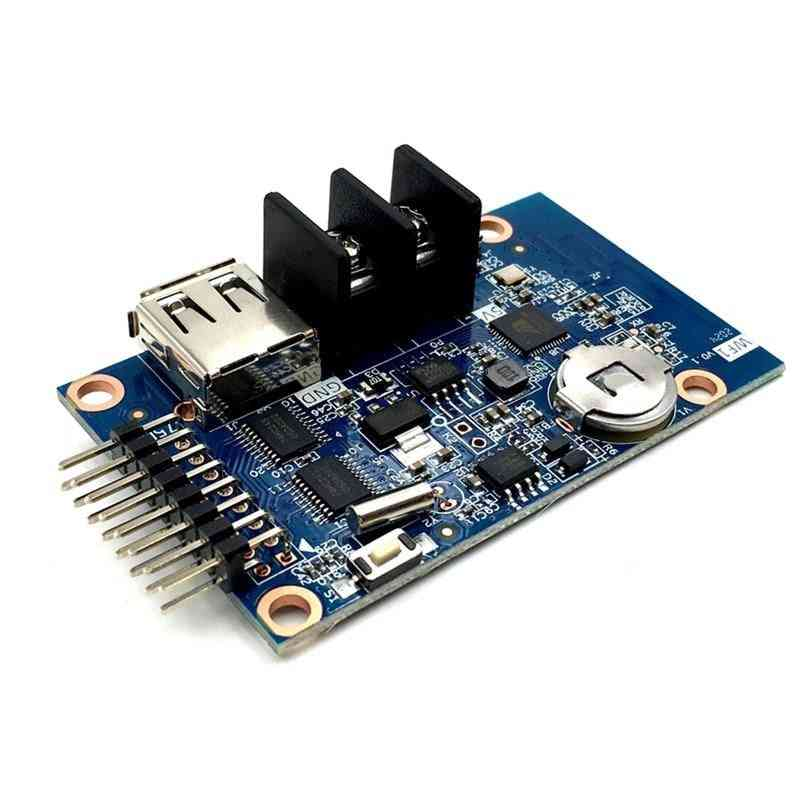 Rgb Seven Color Small Led Display Wifi Control Card