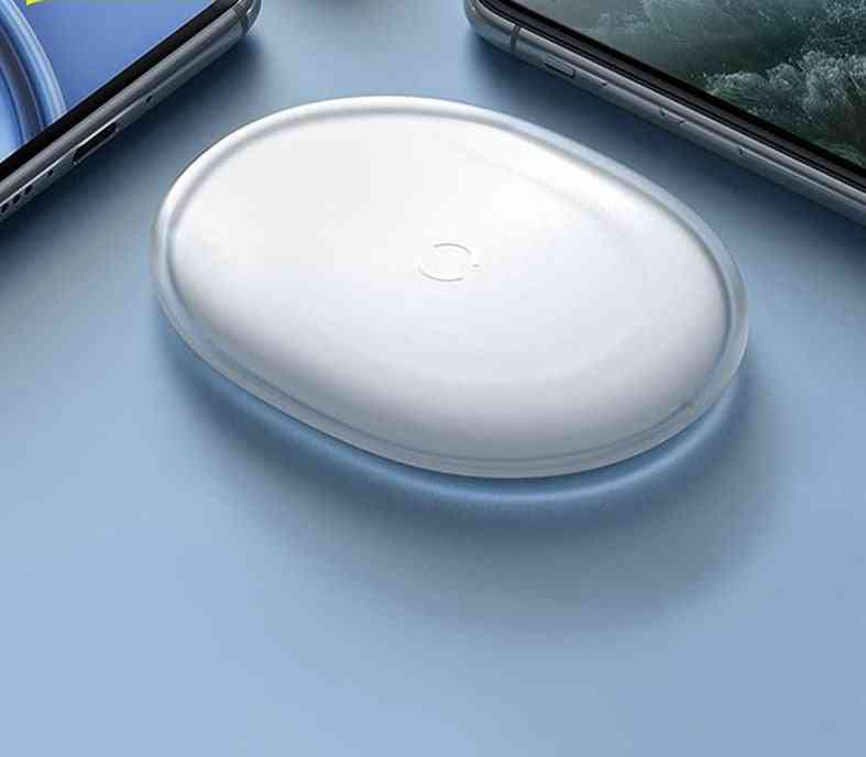 15w Fast Qi Wireless Charger For Iphone Airpods Pro Quick Wireless Charging Pad