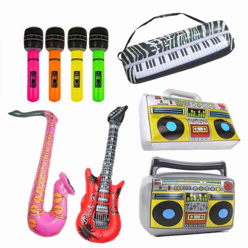 Pvc Fancy Inflatable Instrument Carnival Party Summer Outdoor Water Game Play Accessories