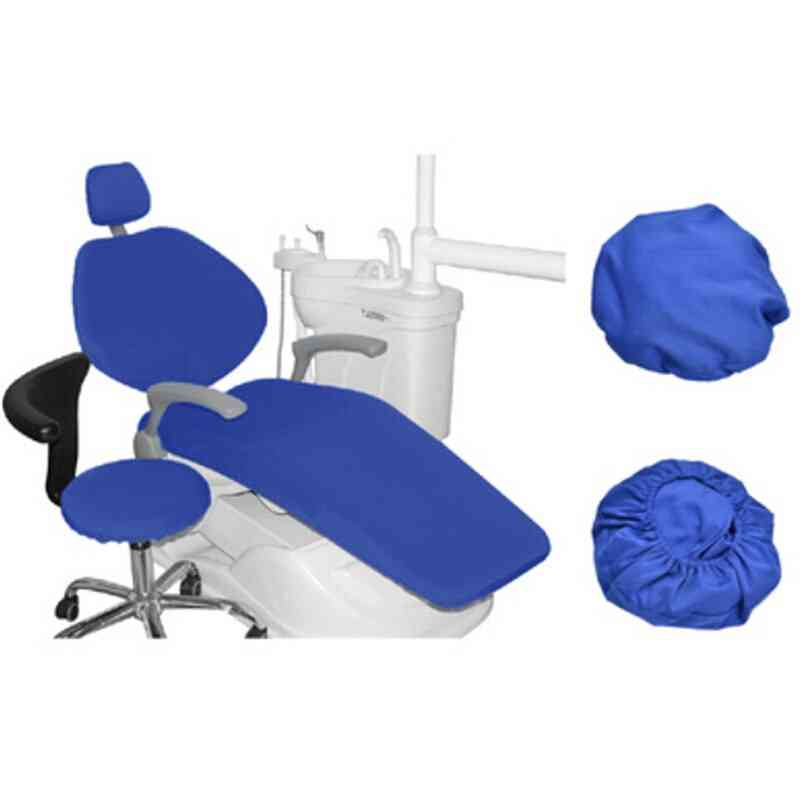 Dental Pu Leather Unit Dental Chair Cover Chair Seat Elastic Waterproof Protective Case Dentist Equipment