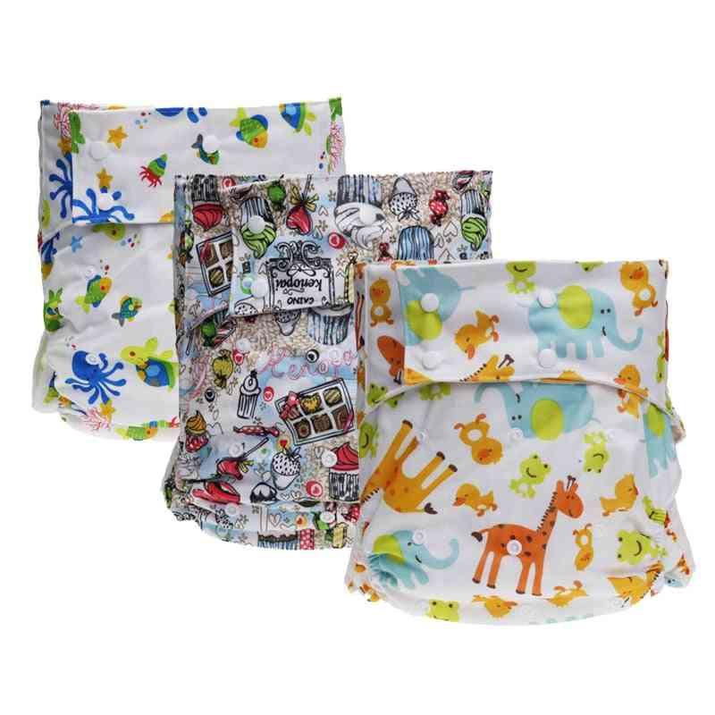 Reusable Waterproof Cloth Adult Diaper