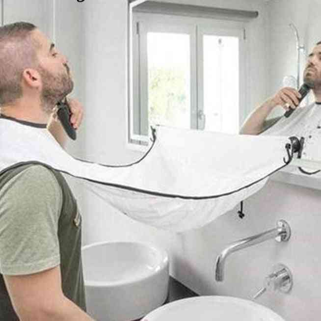 Men's Shaving Apron Beard Collector