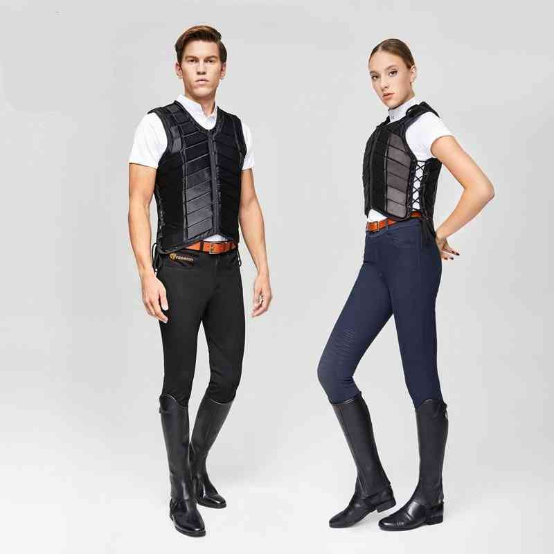 Unisex Outdoor Protect Riding Safety Equestrian Vest For Men And Women