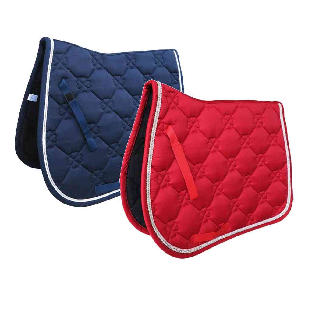 Jumping Breathable Shock Horse Saddle Pads