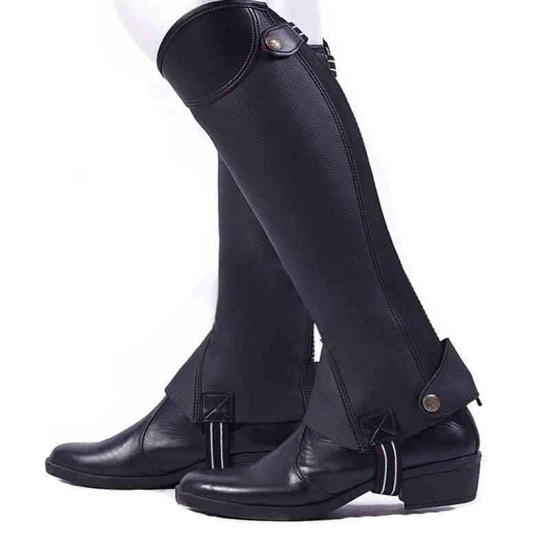 Adults Leg-protector Outdoor Horse Riding Boots Cover