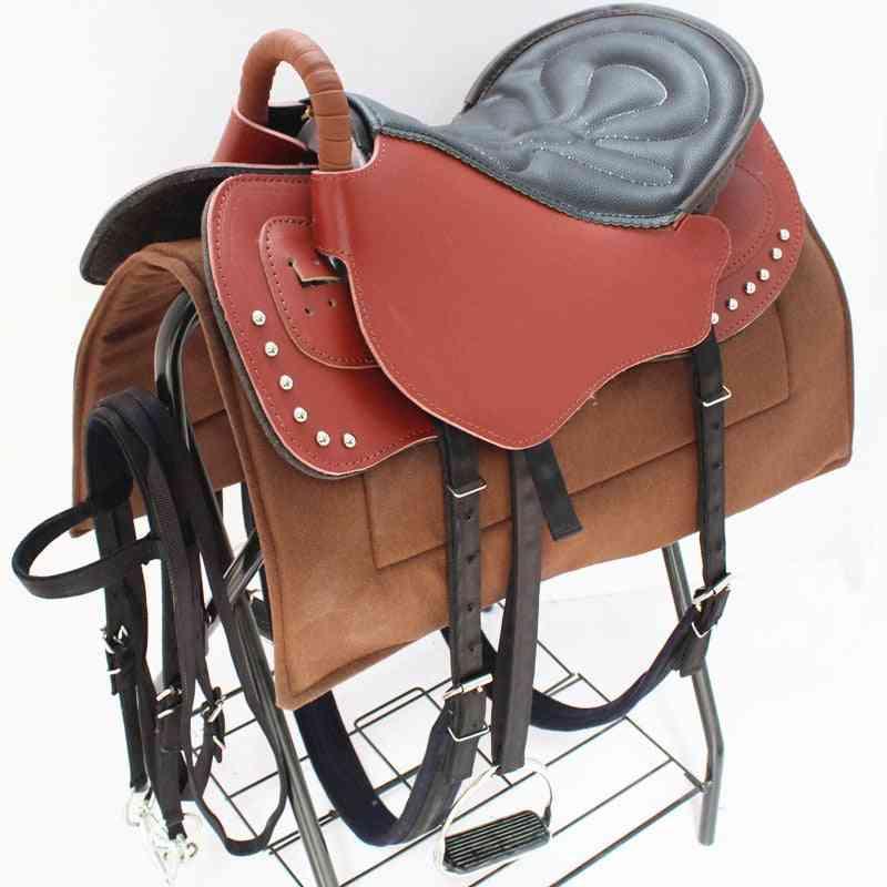 Horse Saddle Accessory Seat Blanket Pad Full Set Horse Riding