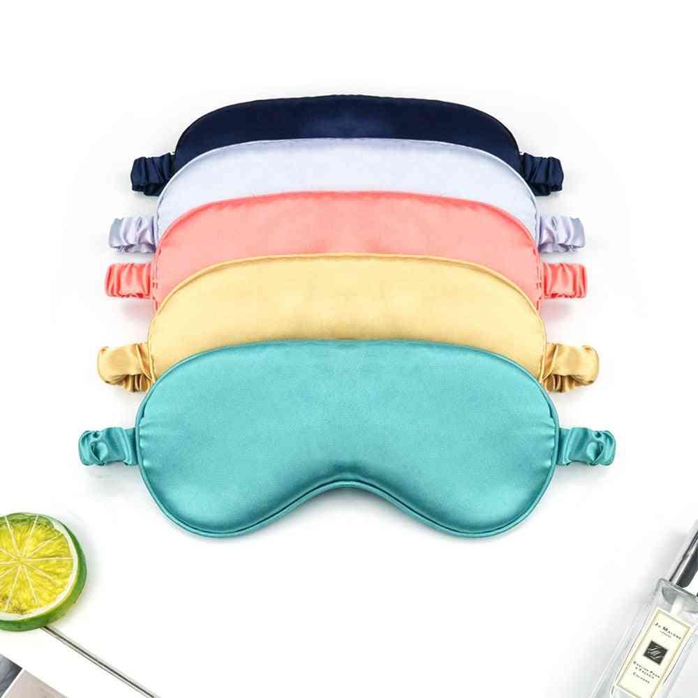 Women Imitated Silk Sleep Eye Mask