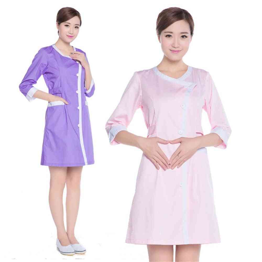 Sleeves Beauty Salons Work Clothes Nurse Suits