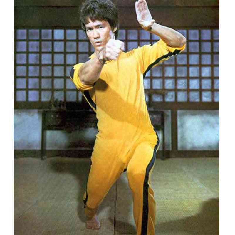 Bruce Lee Rompers For Kid, Adults, Wushu Uniforms, Kung Fu Set,  Clothing Chinese Costume For Men, Martial Arts Sets