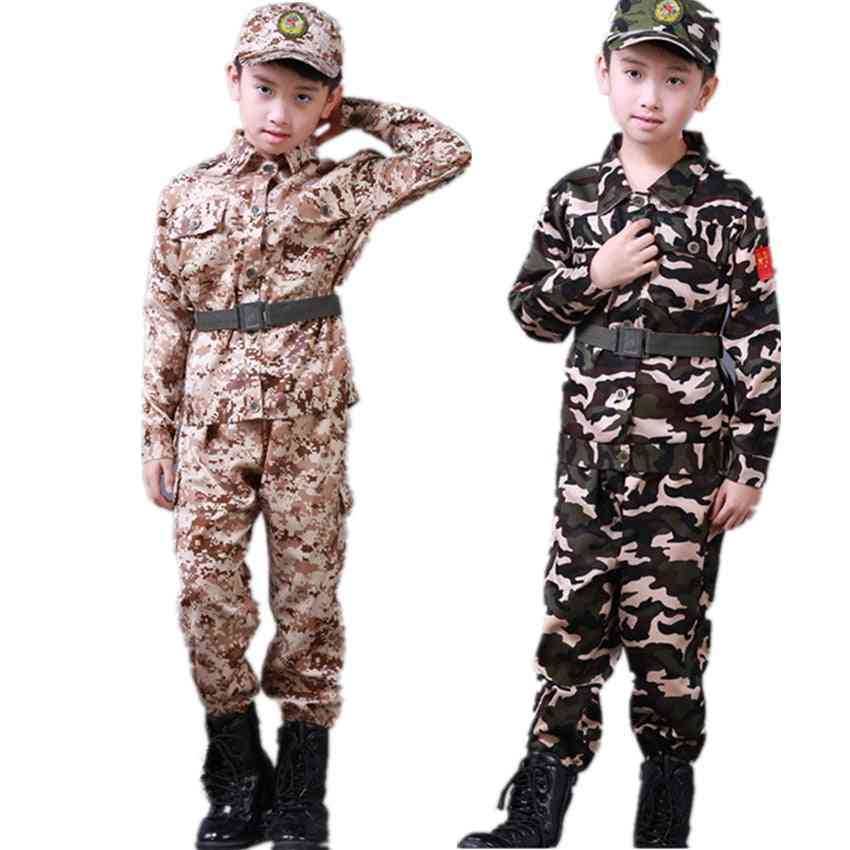 Kids Army Military Uniform