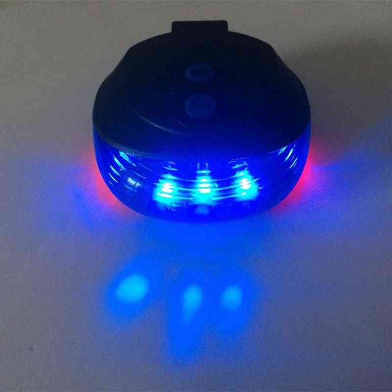 Bicycle Led Light 2 Lasers Waterproof Night Mountain Bike Tail Light Flashing Warning Bicycle Rear Accessories