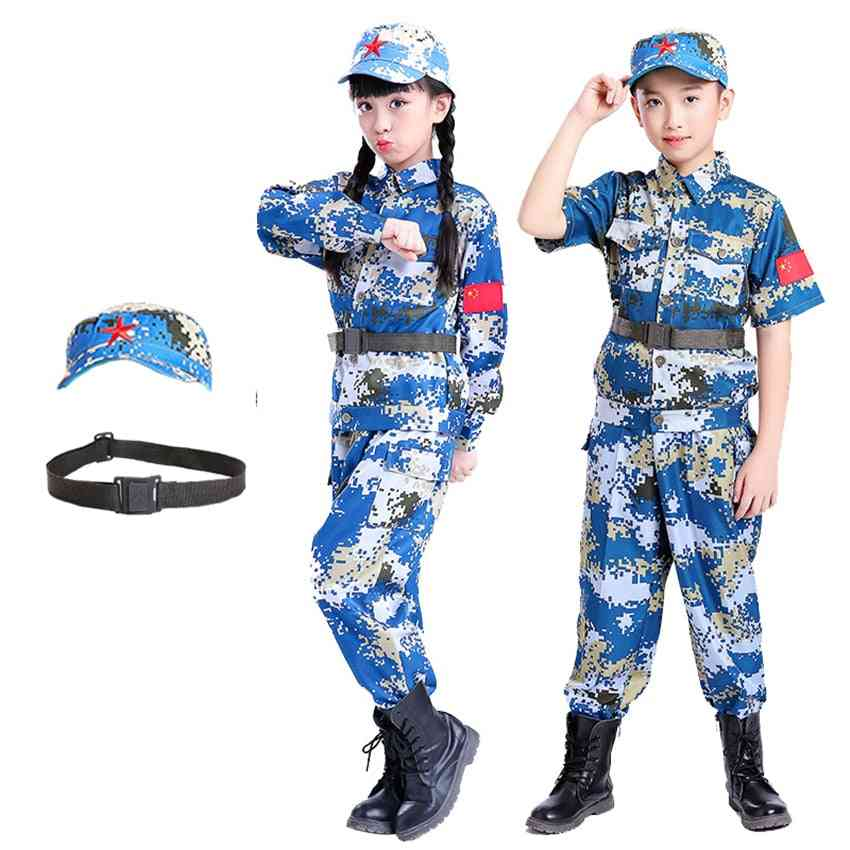 Military Uniform Army Soldier Cosplay Costumes