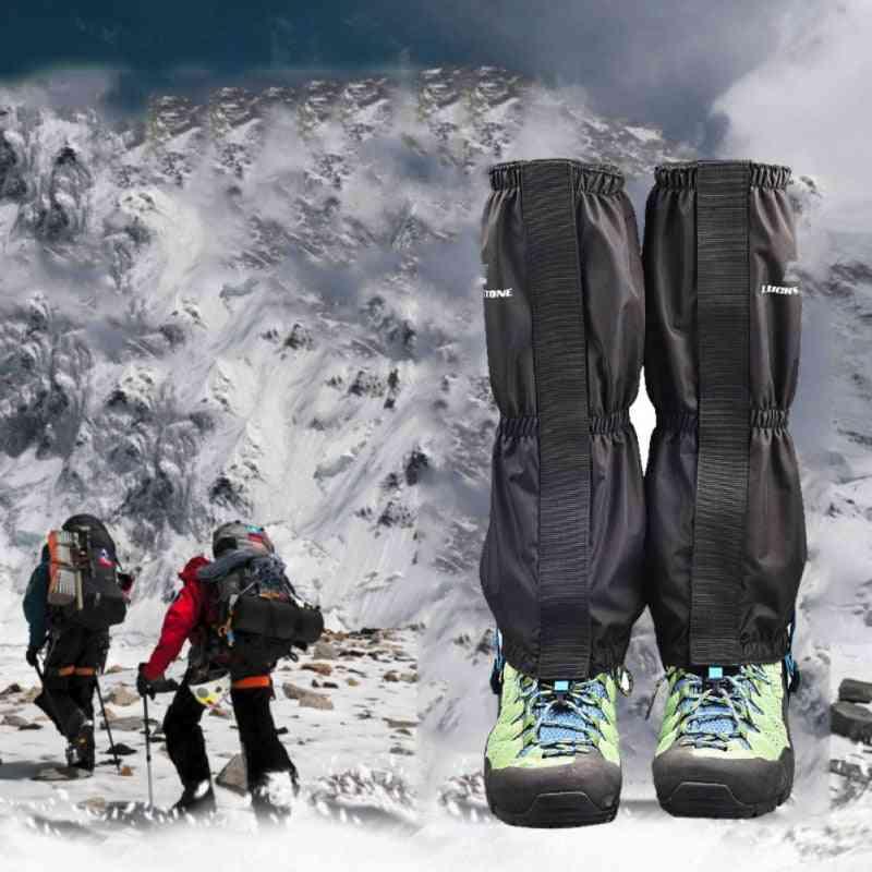 Waterproof Legging Gaiters Ski Wear Breathable Snow Boot Shoe Cover