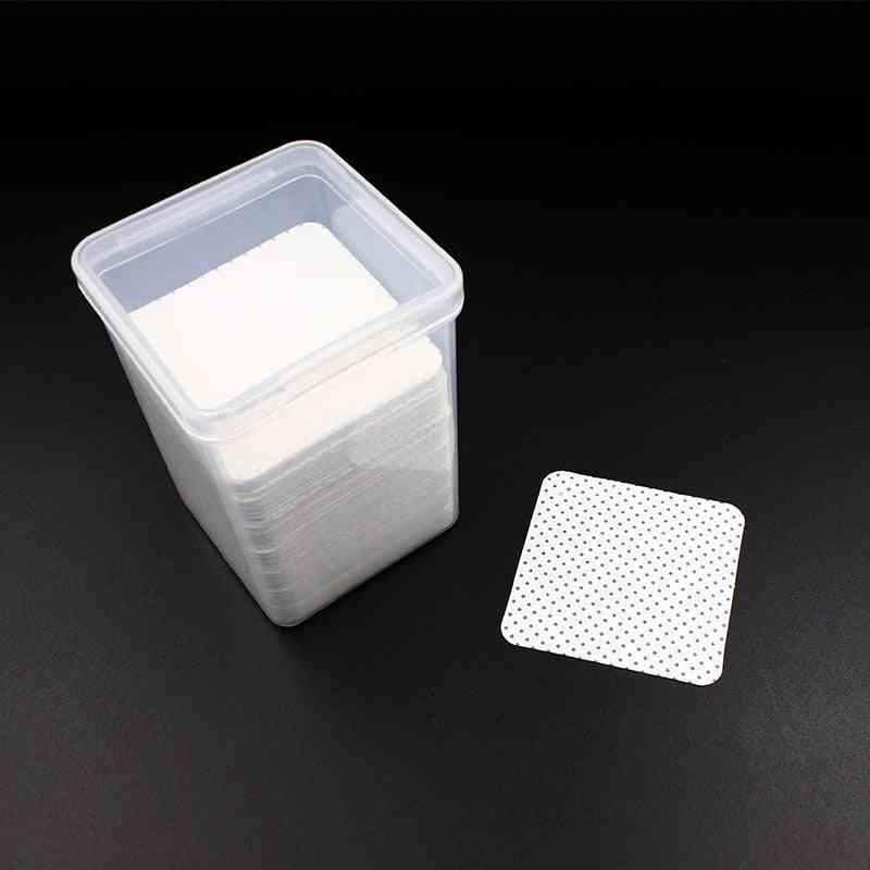 Eyelash Glue Remover Lint-free Paper Cotton Wipes