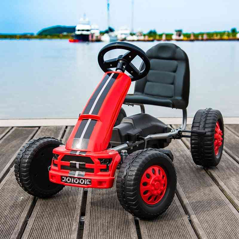 Children Pedal Car With Hand Brake