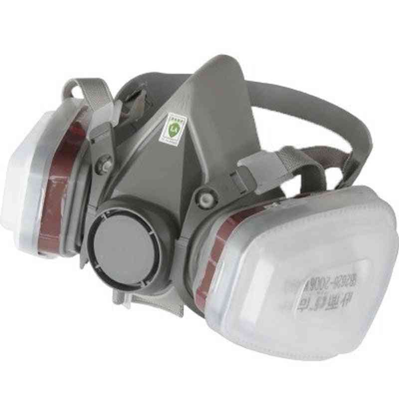 Paint Rubber Fabric Gas Mask