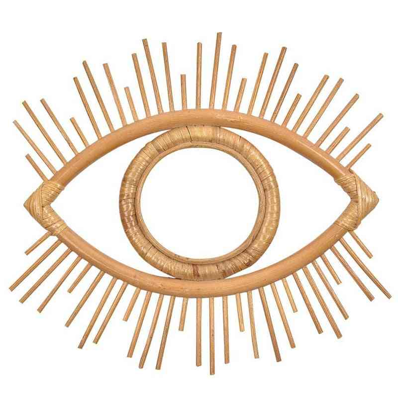 Eye Mirror Frame, Wall Hanging Mirror Frame Crafts(mirror Are Not Included?