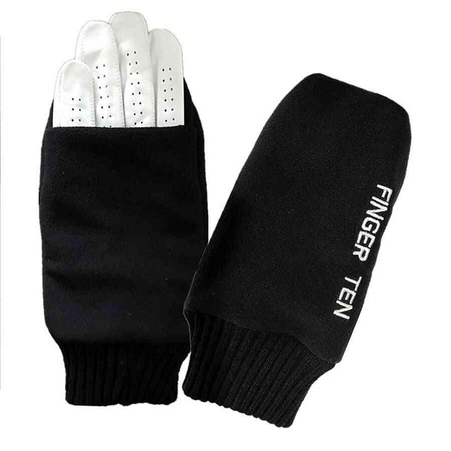 Pull Up Winter Golf Gloves