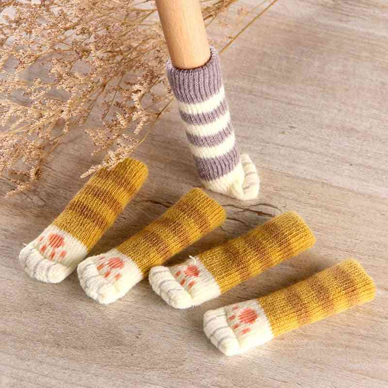 Cat Paw Table Foot Socks Chair Leg Covers