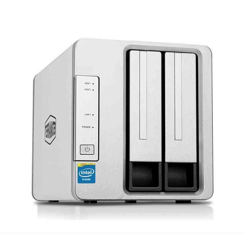 2bay Hdd Nas Personal Cloud Storage 64bit System  Ftp Server Raid Mould Qb Download