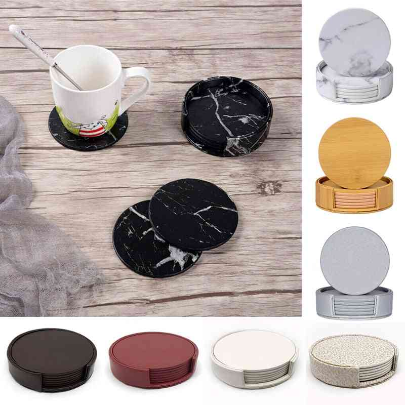 Marble Coaster Drink Coffee Cup