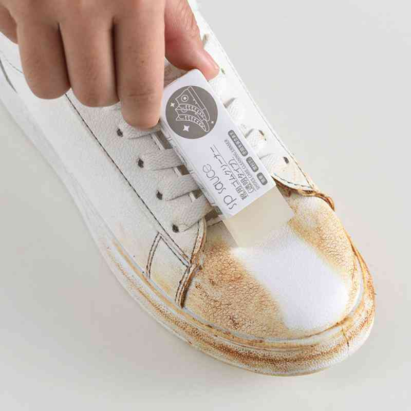 Shoe Leather Cleaning Sneaker